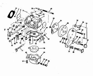 Evinrude Carburetor Parts For 1971 18hp 18103s Outboard Motor