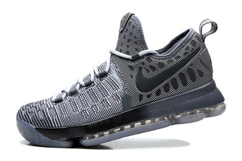 "Nike Kd 9 ""battle Grey"" Wolf Grey/dark Grey"