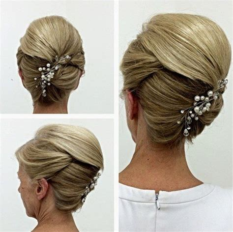 elegant  mother   bride hairstyles