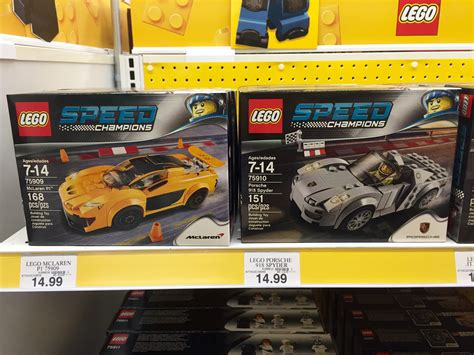 lego speed champions sets released  stores
