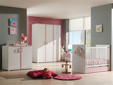 chambre complete bebe fille chambre bébé complète contemporaine blanche et
