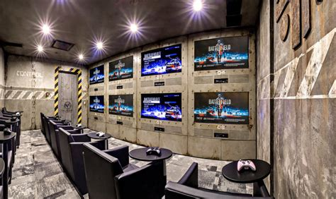 Gaming Room : 50 Gaming Man Cave Design Ideas For Men