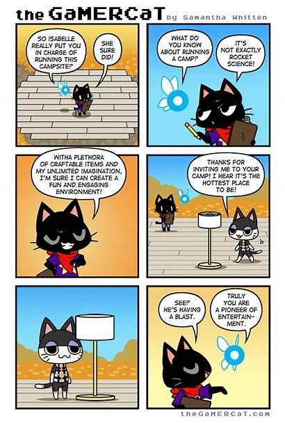 Cat Gamer Comics Gamercat Crossing Animal Tapas
