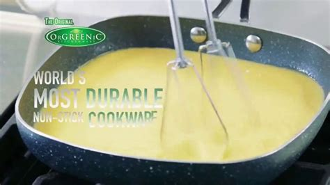 orgreenic diamond granite pan tv commercial tired  scraping pans ispottv