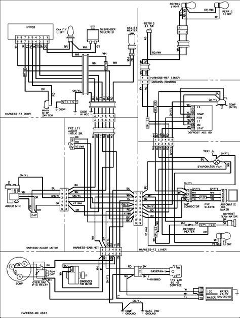 Keeprite Refrigeration Wiring Diagram industrial refrigeration compressor wiring diagrams