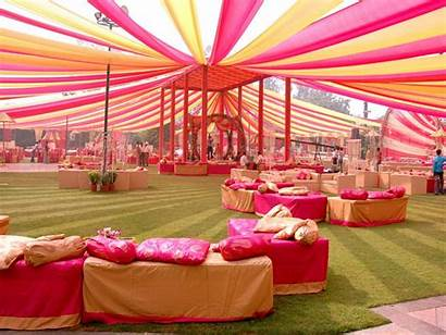 Event Management Decoration Stage Venues Open Ground