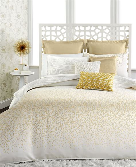 White And Gold Bed Covers by Inc International Concepts Prosecco Comforter And Duvet