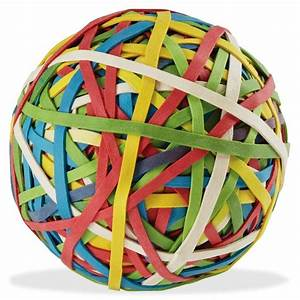 Rubber band ball / Boing Boing Balls and Bands