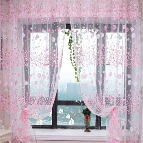 beautiful sheer curtain panels which will make your home