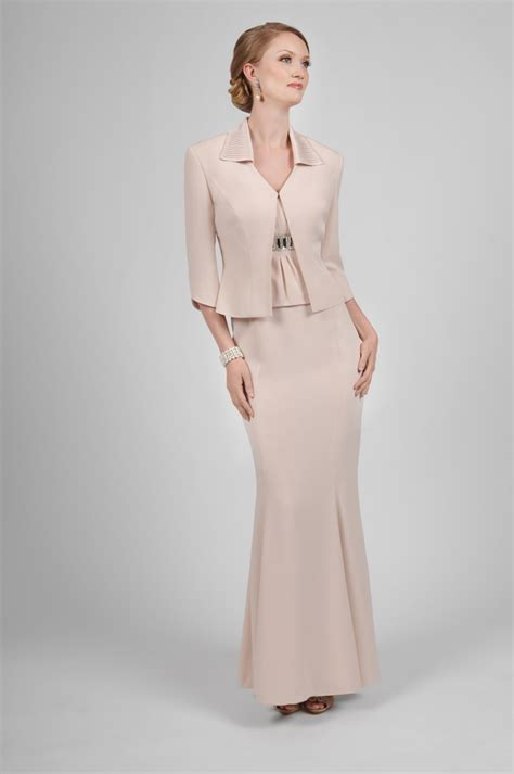 daymor couture  mother   bride  neck dress