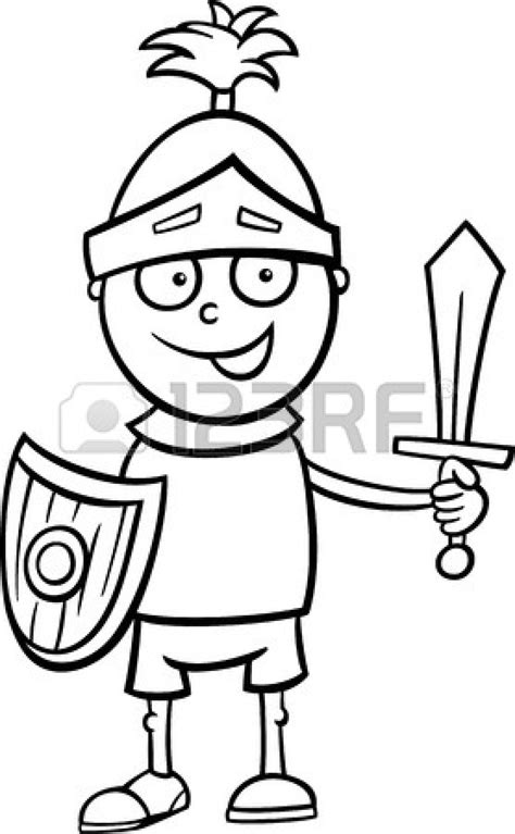 Knight Clipart Black And White | Clipart Panda - Free