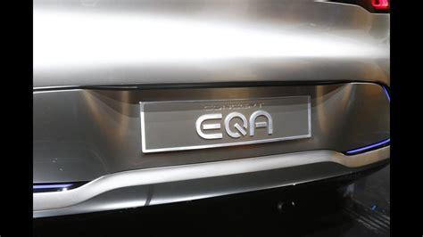 Mercedesbenz Eq A Brings 249mile Range To The Ev Concept