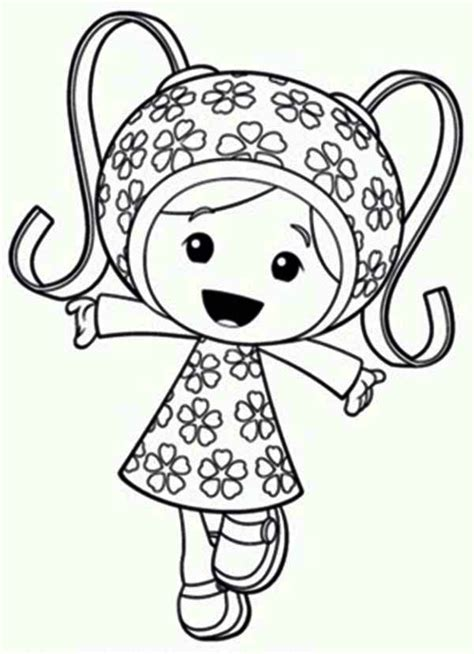 Coloring Umizoomi by Free Team Umizoomi Coloring Pages Printable Coloring Home