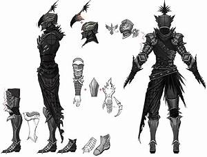 Nighthawk Male Armour Concept art from Vindictus | Concept ...