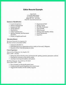 Resume editor