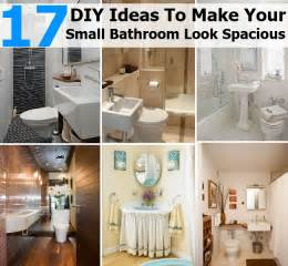 diy network bathroom ideas 17 diy ideas to make your small bathroom look spacious diycozyworld home improvement and