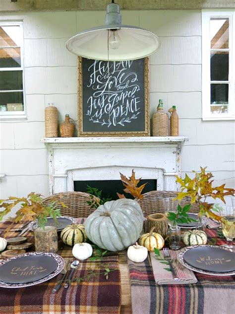 gorgeous thanksgiving tablescapes  turquoise home
