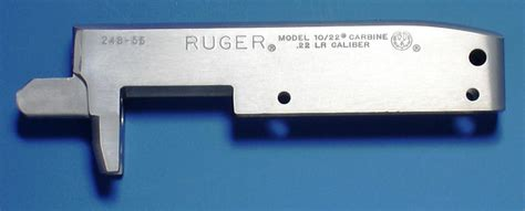 Ruger 1022 Stainless Finished Receiver Take Off New