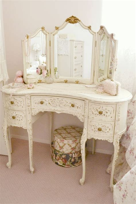 shabby chic vanity shabby chic vanity table set home office furniture sets