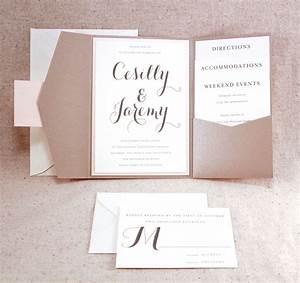 wedding invitation set sophisticated elegance graham With traditional folded wedding invitations