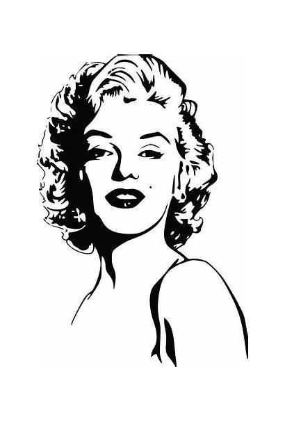 Marilyn Monroe Portrait Clipart