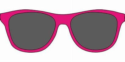 Sunglasses Sun Clipart Glasses Pink Oculos Sol