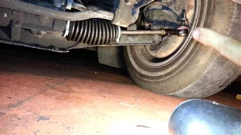 replace  outer tie rod  steps  tips