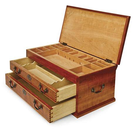 gentlemans tool chest finewoodworking