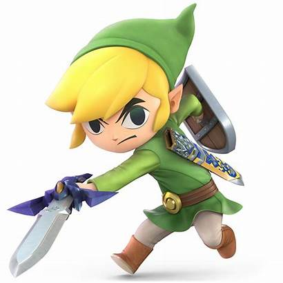 Link Toon Smash Zelda Ssbu Wiki Bros