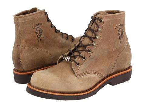 Chippewa American Handcrafted Gq Tan Rodeo Boot At Zappos.com