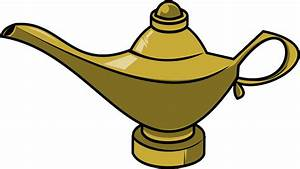 Magic Genie Lamp Clipart - Clipart Suggest