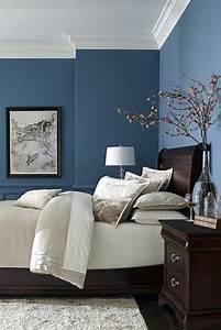 Grau Blaue Wand : blaue wandfarbe blau grau wandfarbe wirkung wohnen br fa 1 4 r viel mehr blaue wandfarbe jane ~ Watch28wear.com Haus und Dekorationen