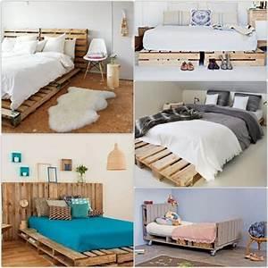 Europaletten Möbel Selber Bauen : bett aus paletten im eigenen schlafzimmer inspirierende beispiele ~ Bigdaddyawards.com Haus und Dekorationen