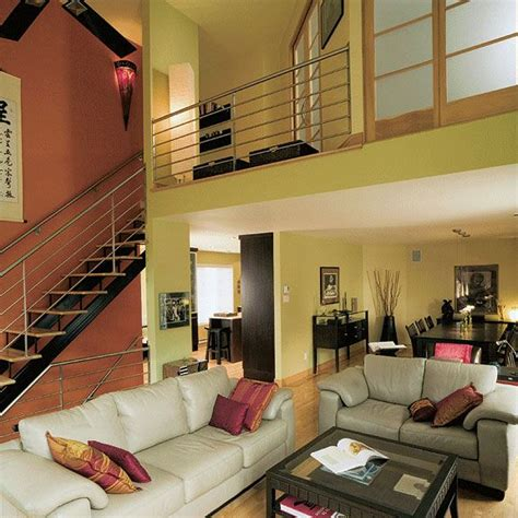 mezzanine home open floor concept with cathedral ceiling mezzanine see more picture of this house plan here