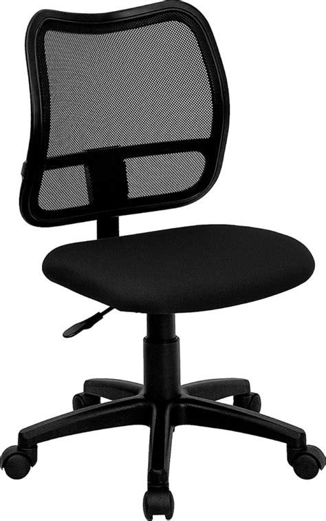mid back black mesh swivel task chair