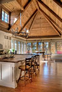 Kitchen Vaulted Ceiling Beams