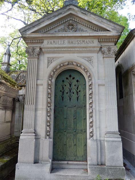 les chais d haussmann of georges eugène haussmann père lachaise cemetery
