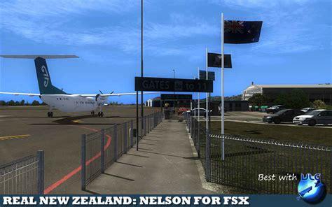 real  zealand nelson airport  city  fsxpd