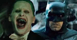 Ben Affleck's BATMAN And Jared Leto's JOKER To Have Team ...
