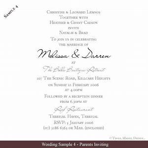 Wedding invite wording reference wedding decoration for Wedding invitation saying samples