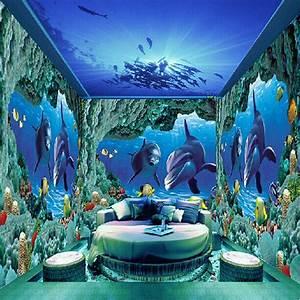 Aliexpress com : Buy Underwater World photo murals wall