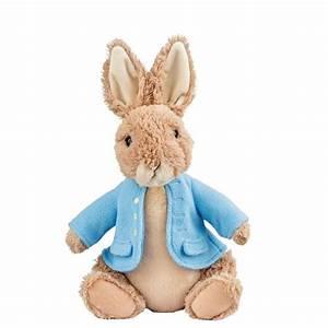 Peter Rabbit soft plush toy stuffed animal Beatrix Potter ...