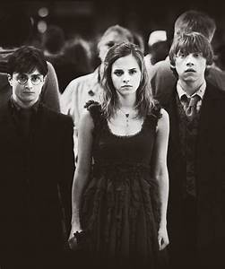 Harry Potter, Hermione Granger and Ron Weasley | harry ...