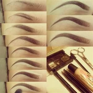 eyebrow shaping tutorial   Tumblr