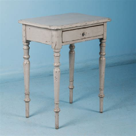 small antique side tables small antique country side table painted gray 5346