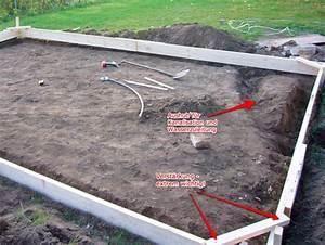 Fundament Für Gartenhaus : gartenhaus fundament tag 1 vorbereiten und schalung bauen laubensch nlaubensch n ~ Whattoseeinmadrid.com Haus und Dekorationen