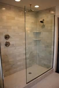 Bathroom Glass Shower Ideas Walk In Shower Design Ideas