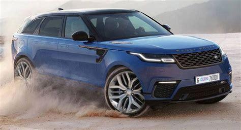 range rover velar svr rumor  price luxury suv