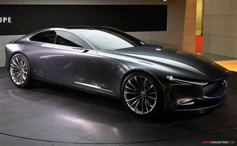 Mazda Concept Car by Mazda Vision Coupe Concept Car Wows Crowds At Tokyo