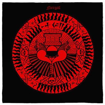 Nergal Babylonian Sigil Underworld Altar Cloth Lord